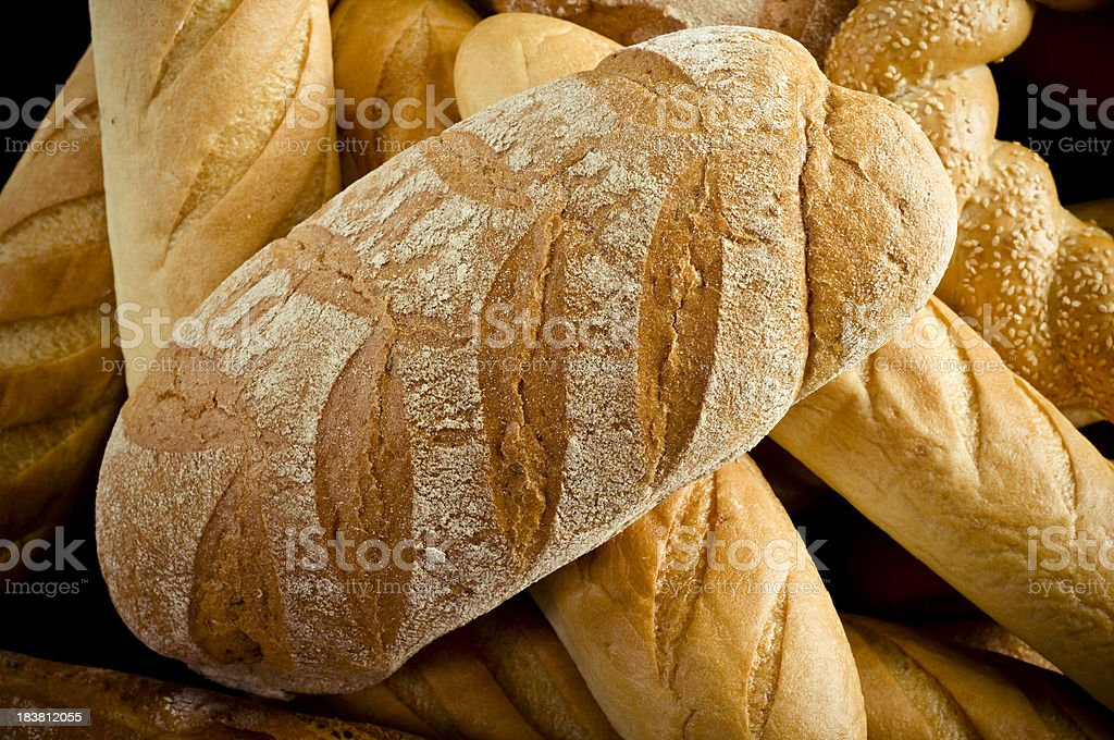All sorts bread royalty-free stock photo