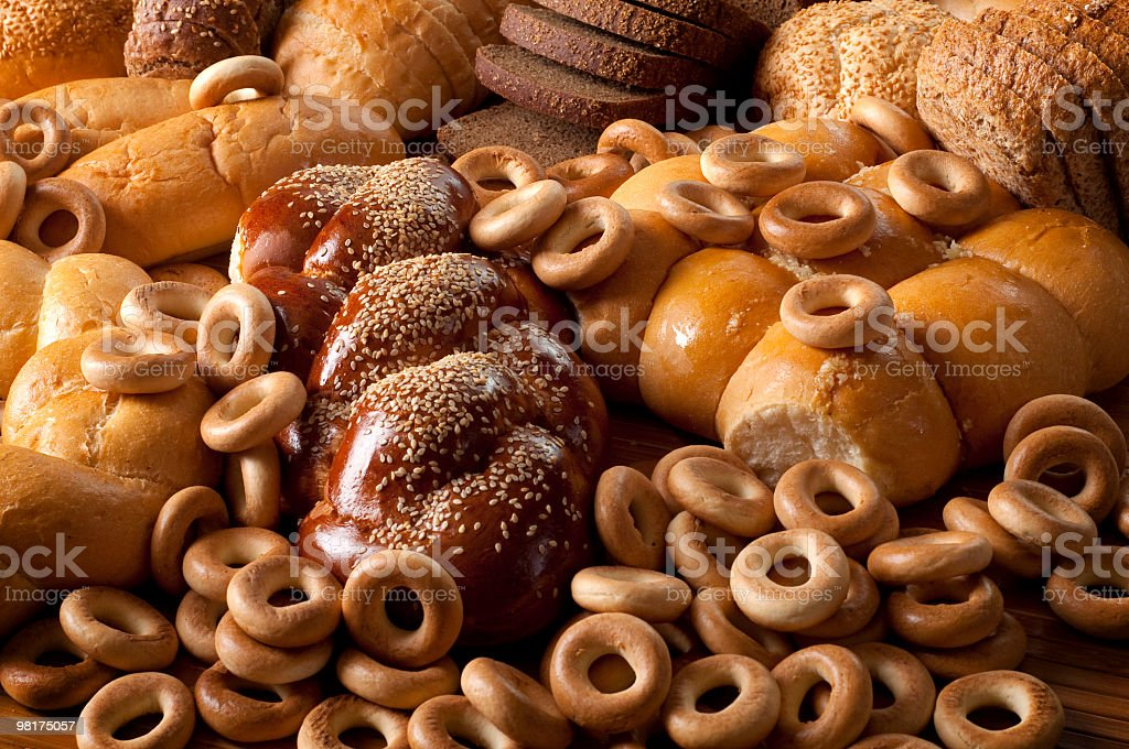 All sorts bread royalty-free stock photo