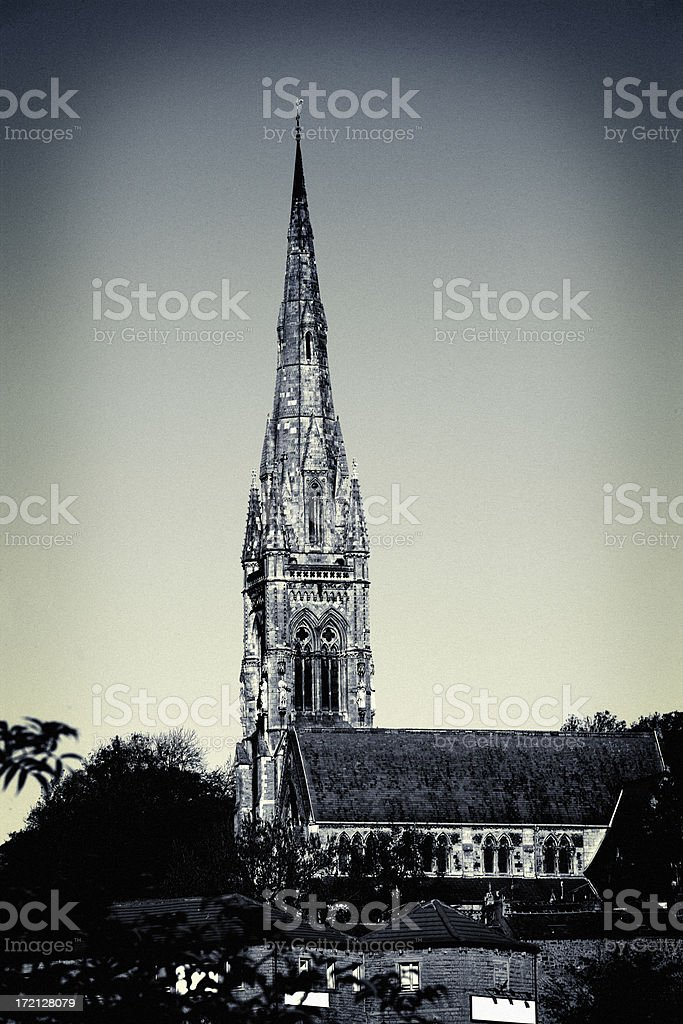 All soul's church royalty-free stock photo