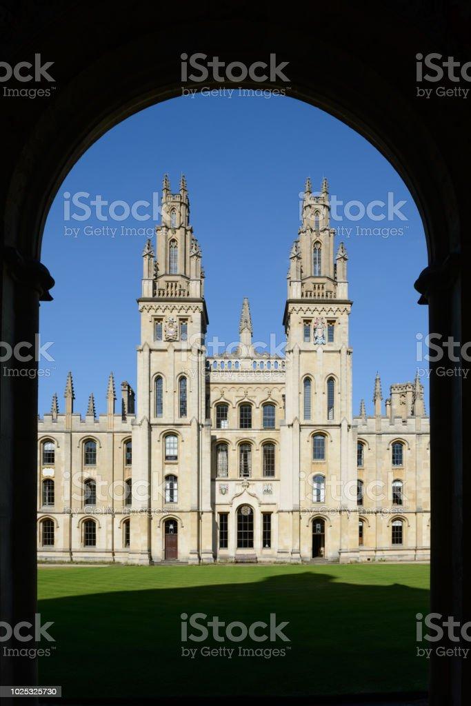 Am All Souls College in Oxford – Foto