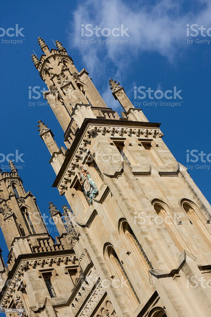 All Souls College, Oxford stock photo