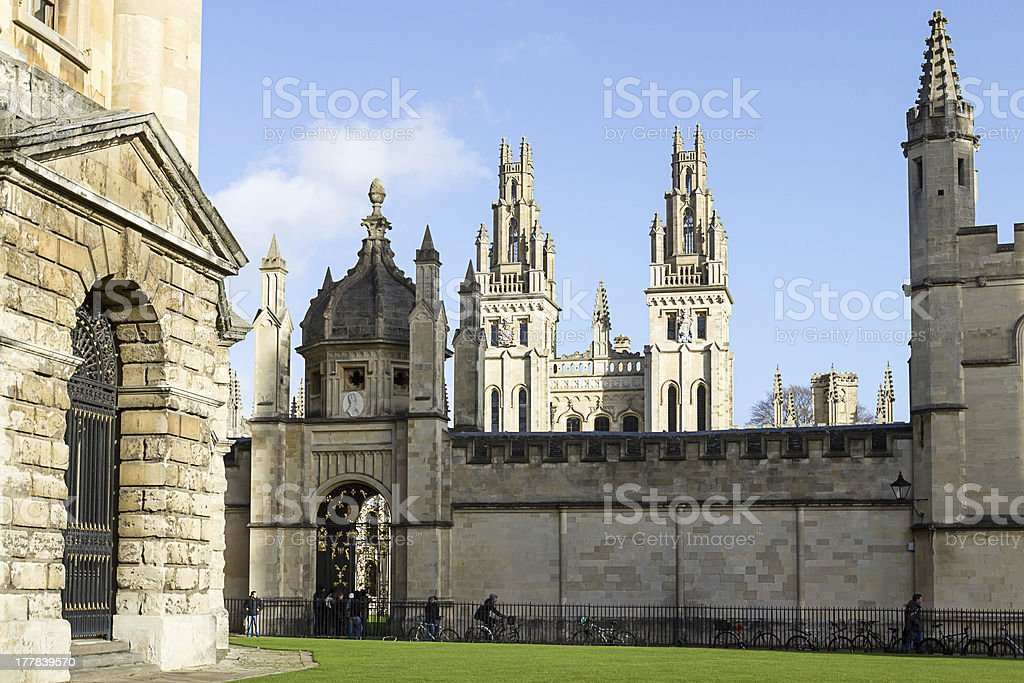 all Souls College Oxford, Uk - Royalty-free Architecture Stock Photo