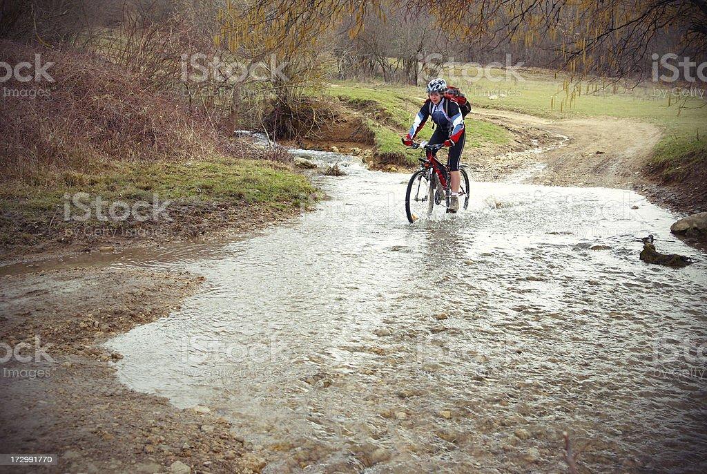 All Terrain Biker royalty-free stock photo