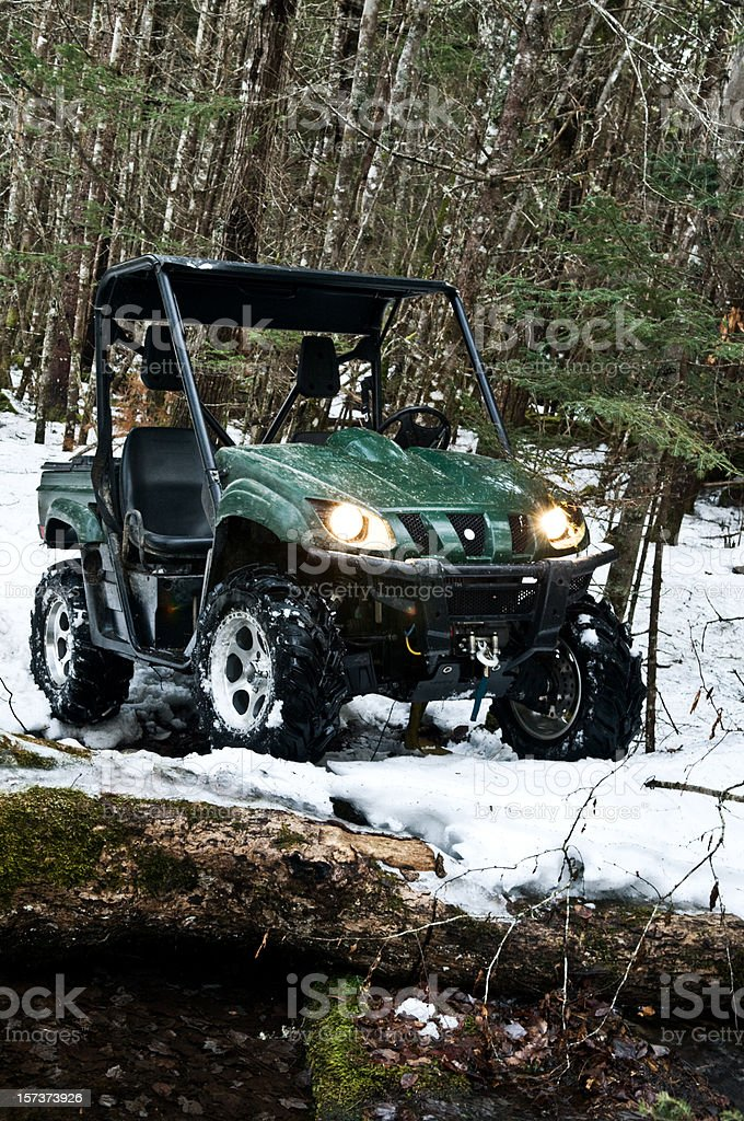 All Terrain Vehicle royalty-free stock photo