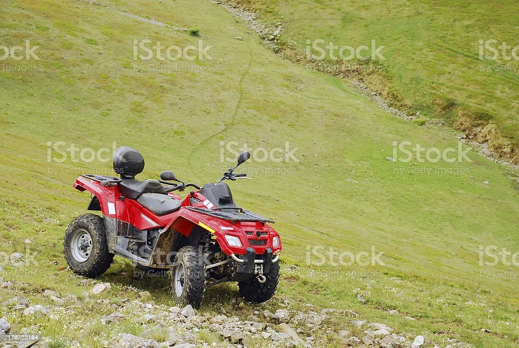 all terrain vehicle royalty-free stock photo