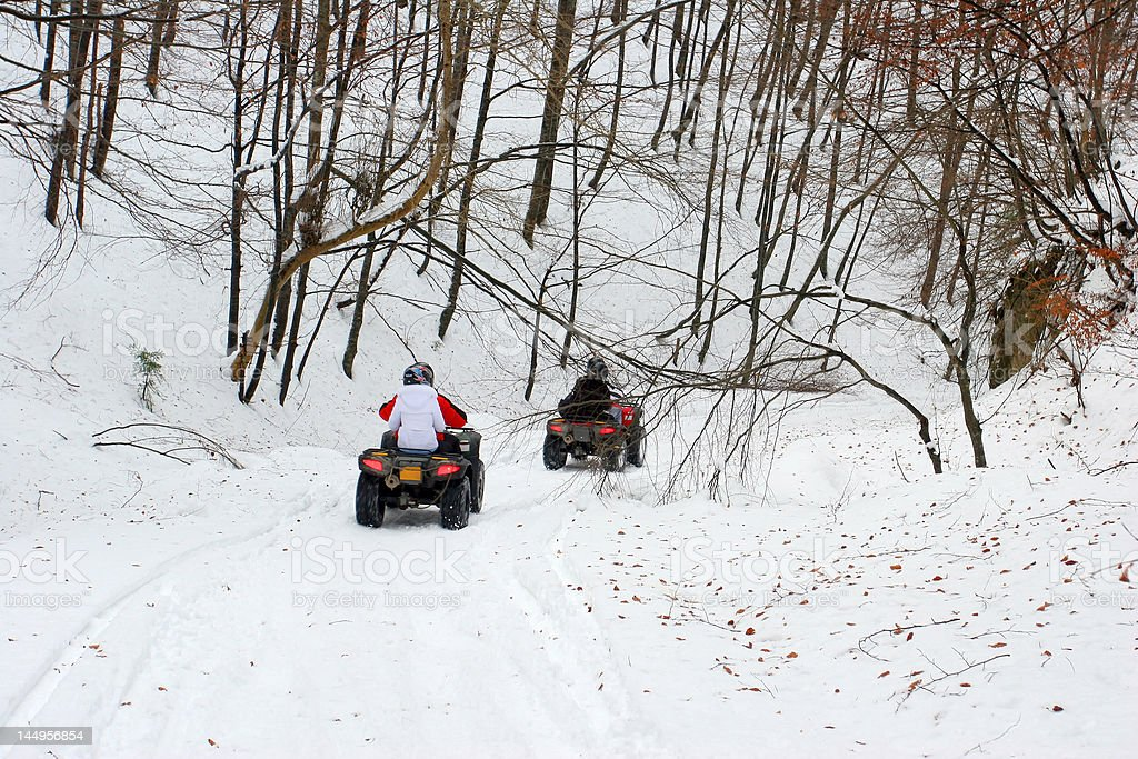 All Terrain Vehicles stock photo