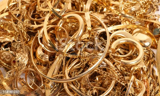 istock All that glitters is gold 118181232