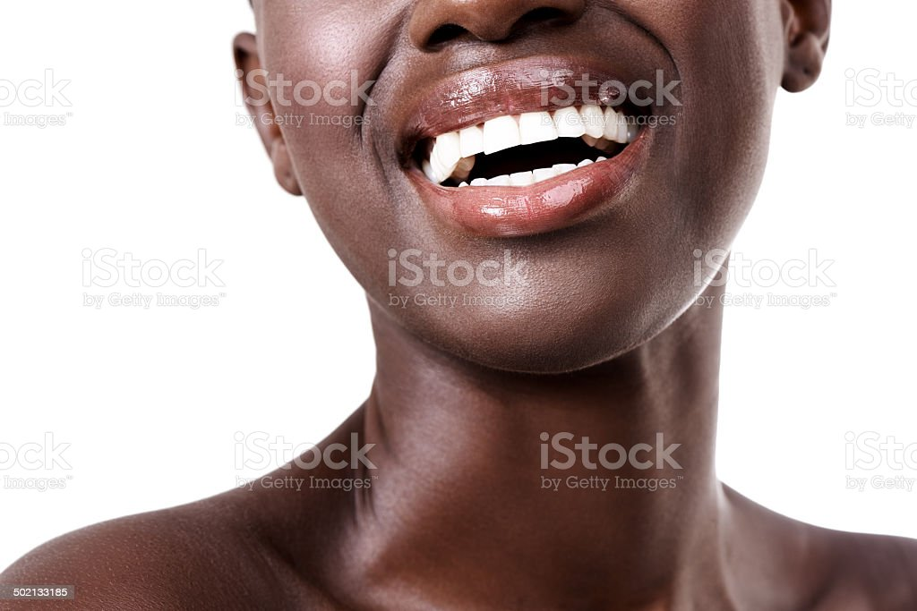 All that I'm after is a life filled with laughter stock photo
