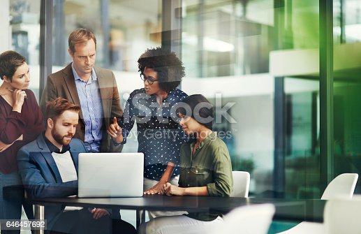 istock All the information they need for a productive collaboration 646457692