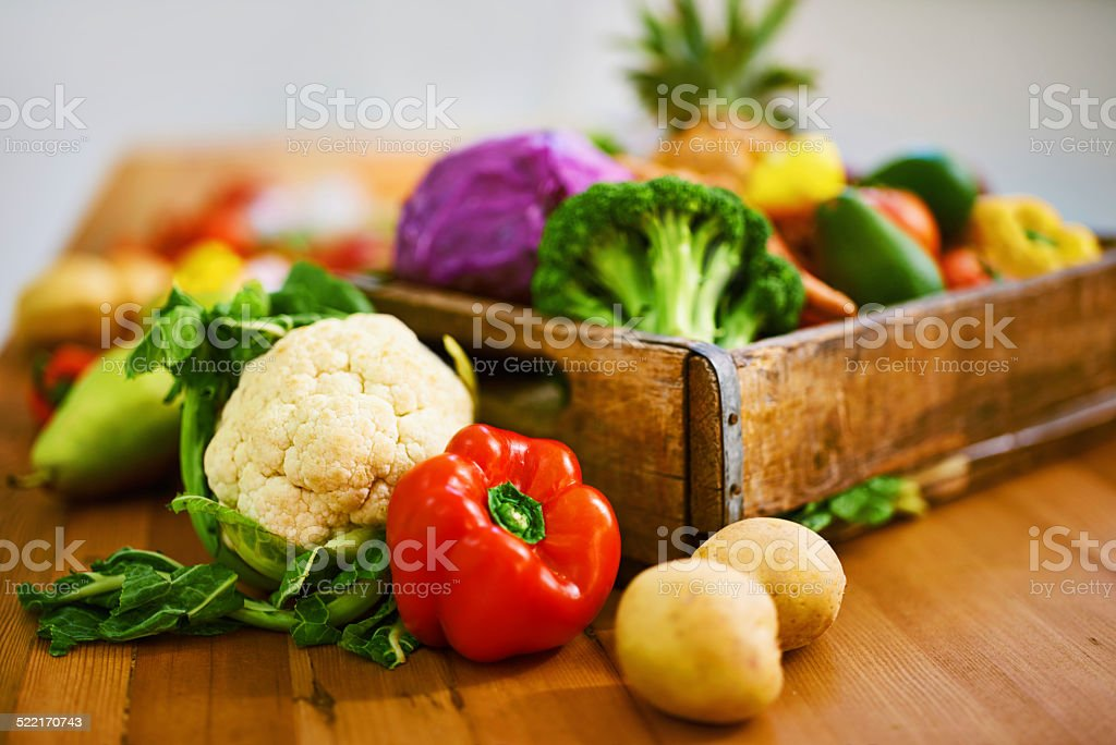 All the nutrients you could ask for stock photo