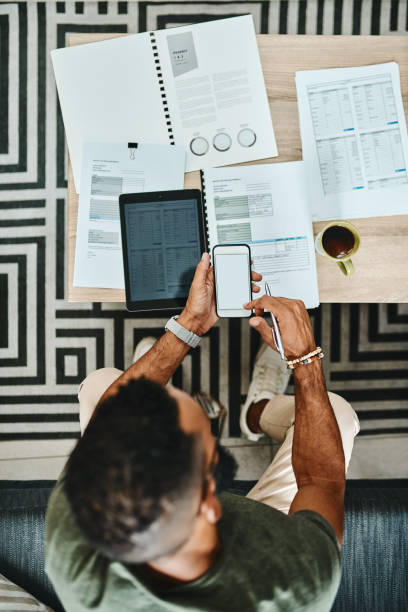 All the tools to make budgeting a breeze stock photo