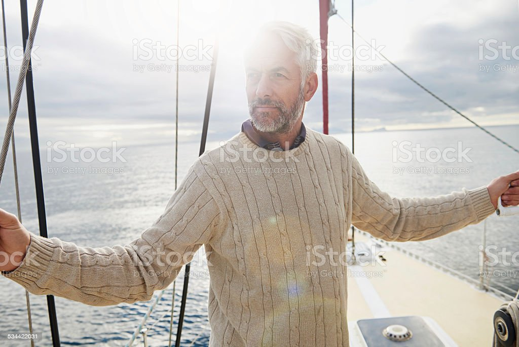 All thoughts aboard stock photo