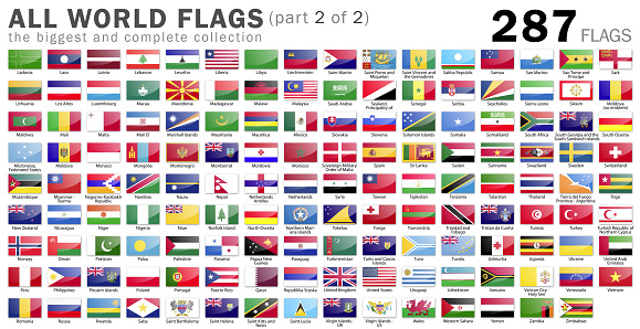 istock All World Flags - 287 items - part 2 of 2 917214732