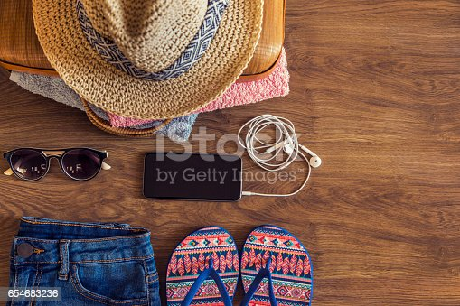 654680306istockphoto All you need for a summer day 654683236