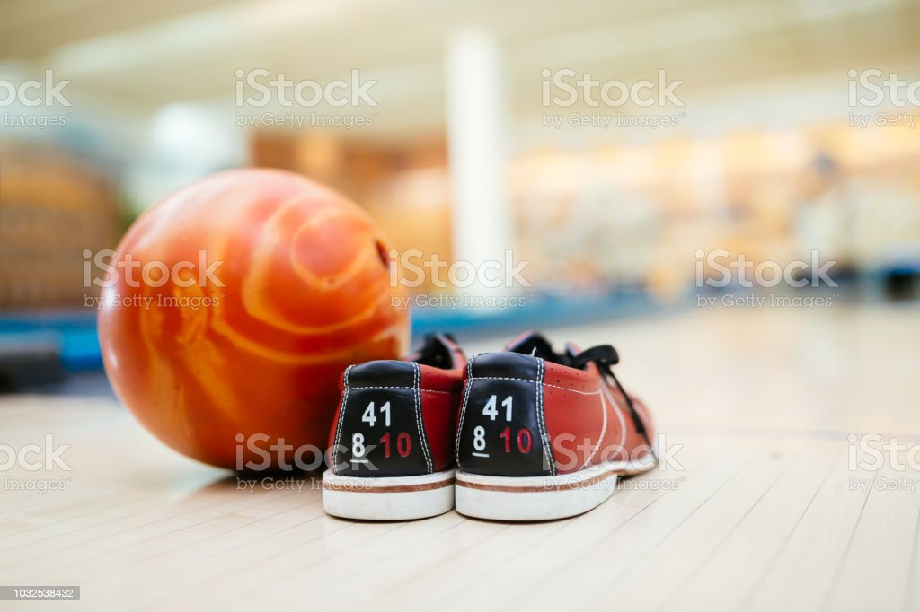 All you need for bowling stock photo