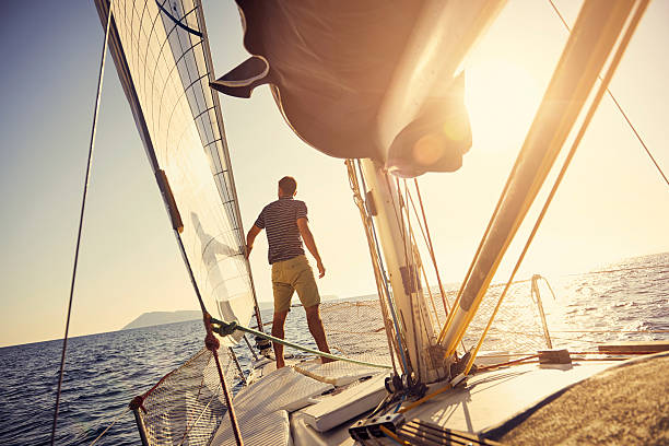 all you need is a good dose of vitamin sea - sail stock pictures, royalty-free photos & images