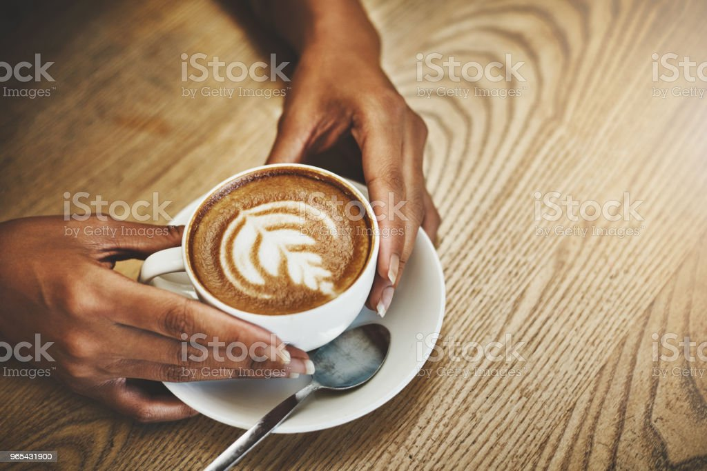 All you need is a hug in a mug royalty-free stock photo