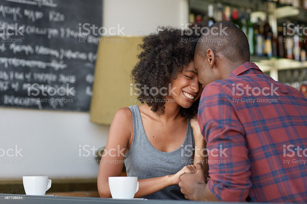 All you need is love and coffee stock photo