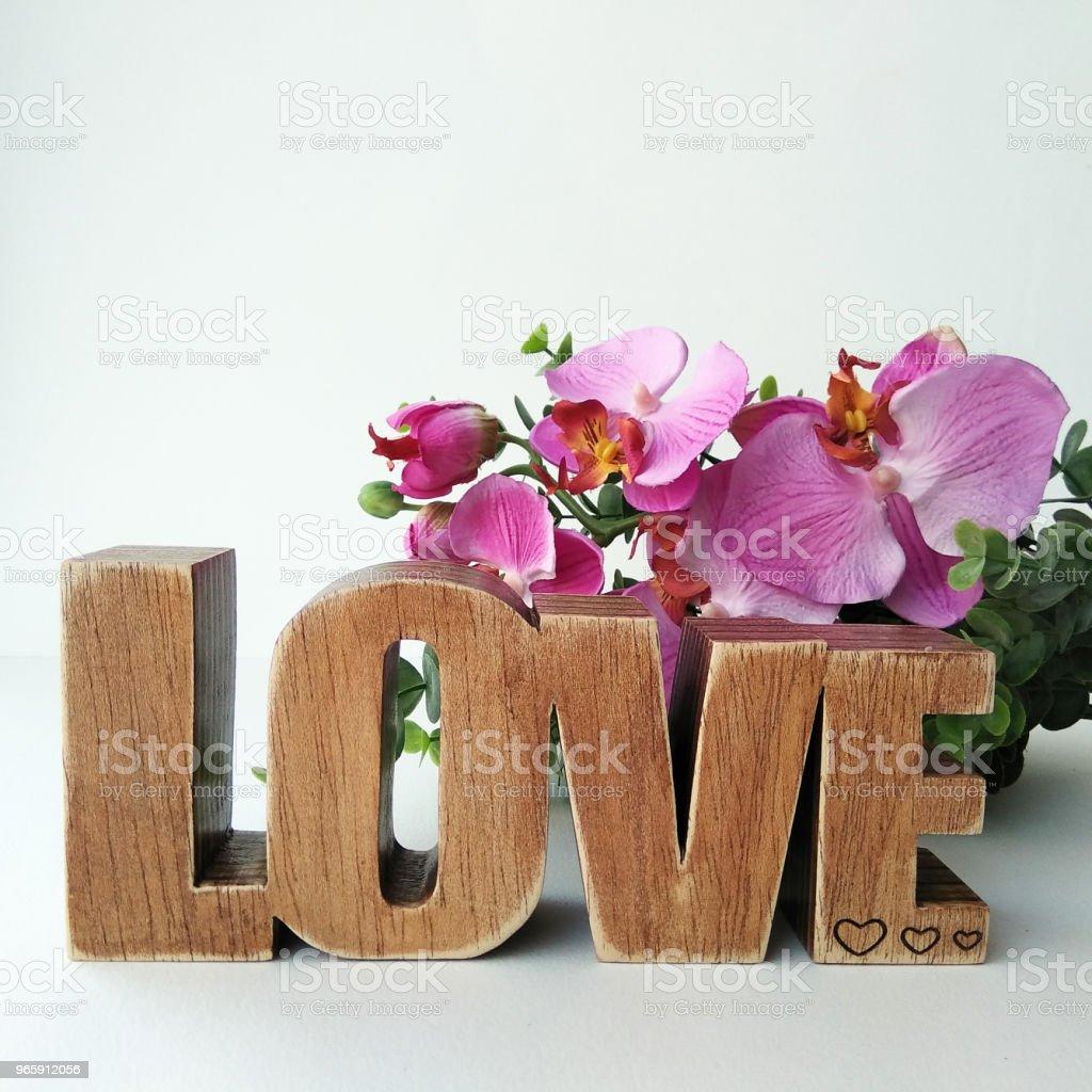 Alles wat u nodig hebt is liefde - Royalty-free Achtergrond - Thema Stockfoto