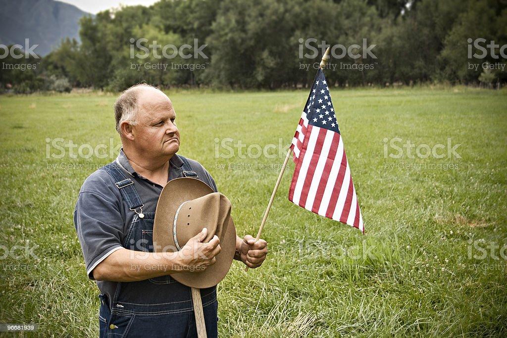 All-American Senior Man stock photo