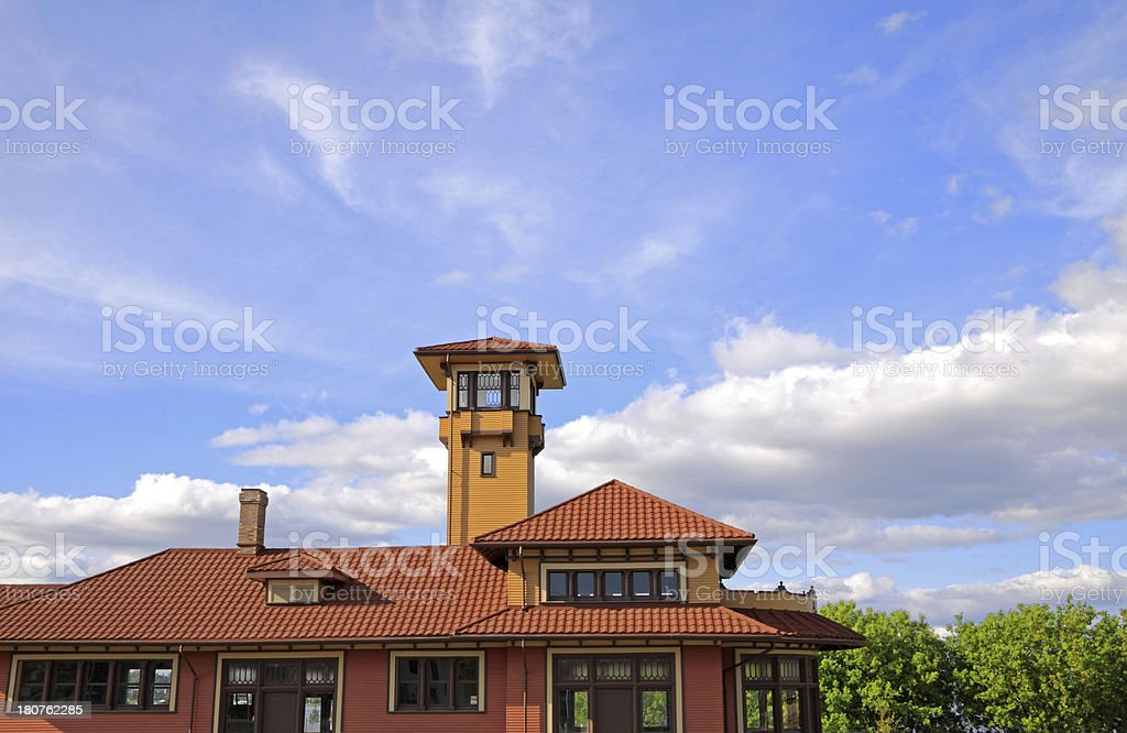 Allandale Station in Barrie royalty-free stock photo