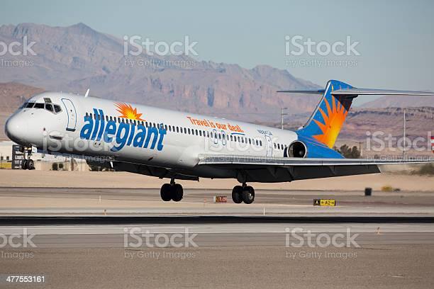 Allegiant McDonnell Douglas MD-83