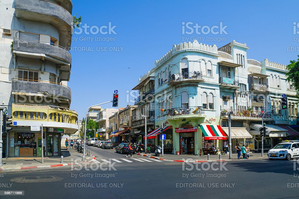 Allenby street, Tel-Aviv - Photo