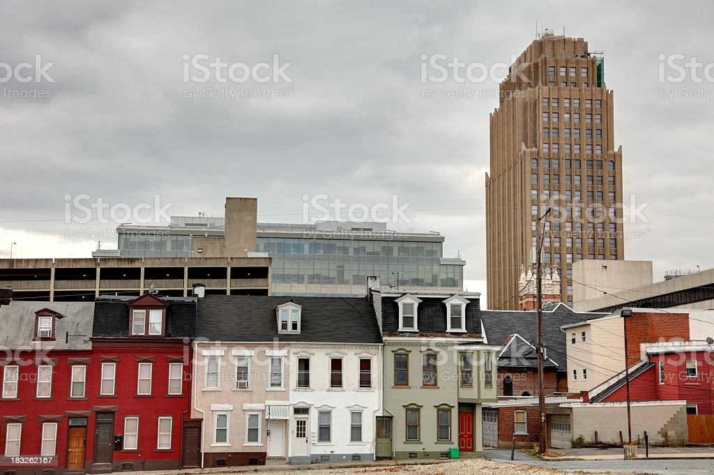 Allentown stock photo