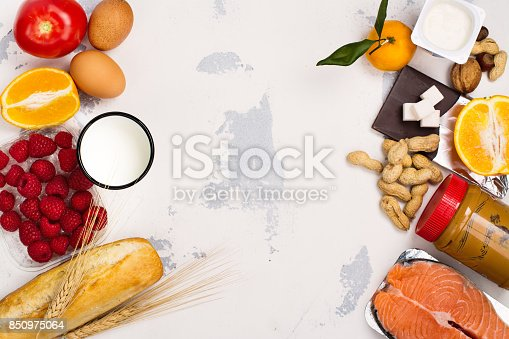 istock Allergy food concept 850975064