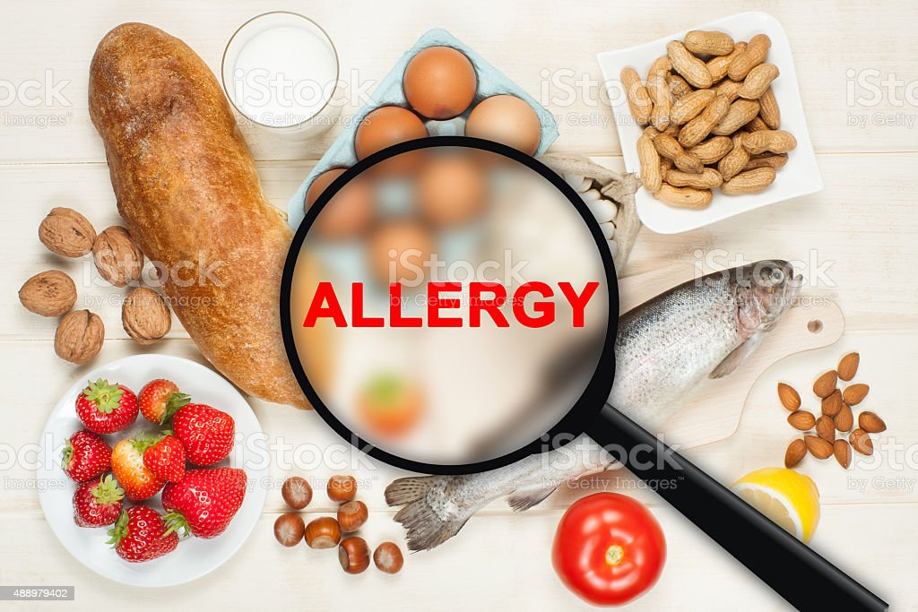Allergie Speisen – Foto