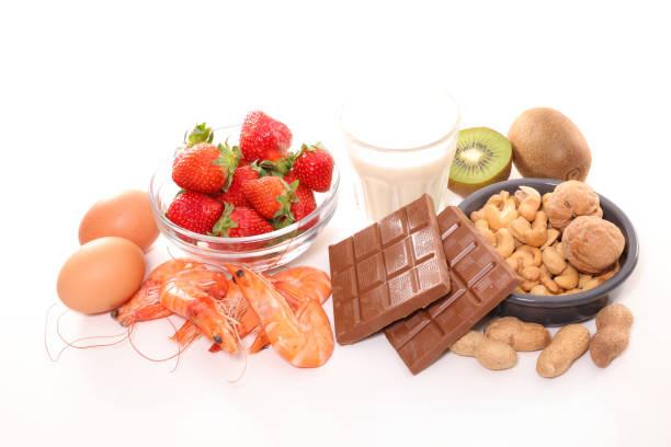 アレルギー食品 - 食物アレルギー ストックフォトと画像