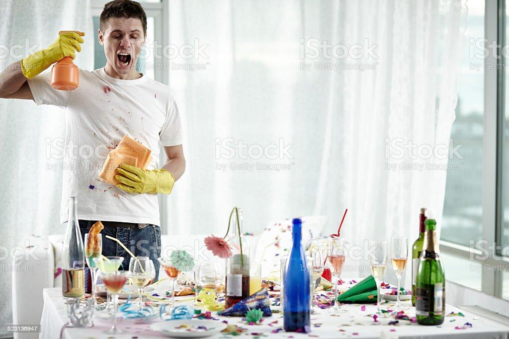 Allergie de nettoyage - Photo