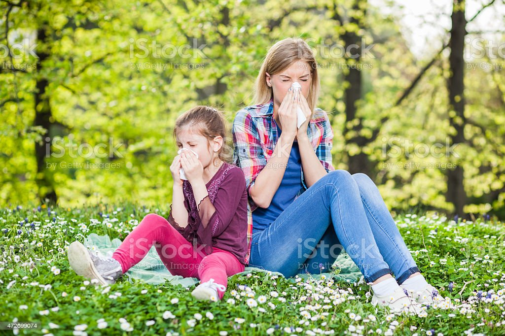 Allergy stock photo