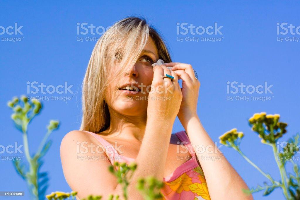 Allergy Season stock photo