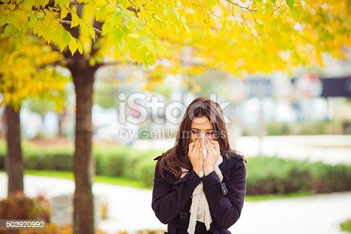 istock Allergy season 503920992