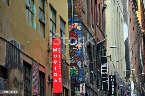 534781401 istock photo Alley in Melbourne 638286968