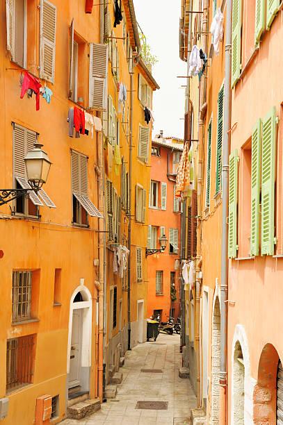 Gasse in Nizza – Foto
