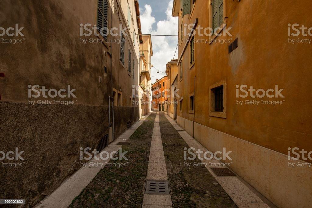 Eine Gasse in Verona – Foto