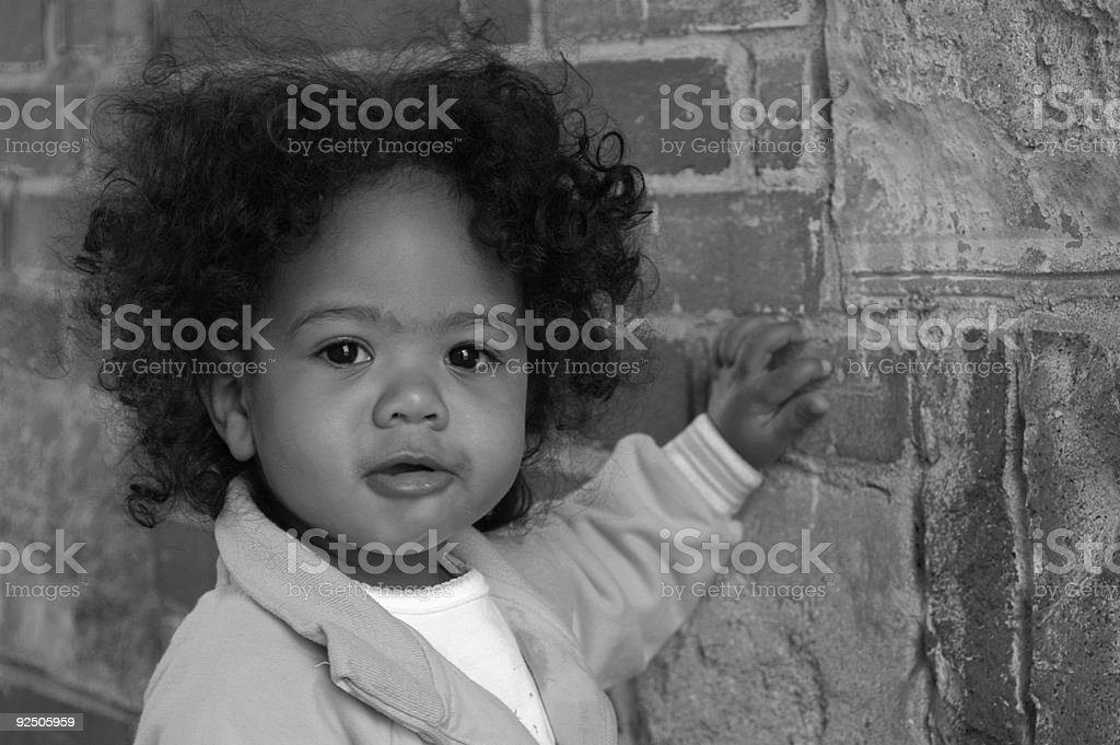 Alley Kid royalty-free stock photo