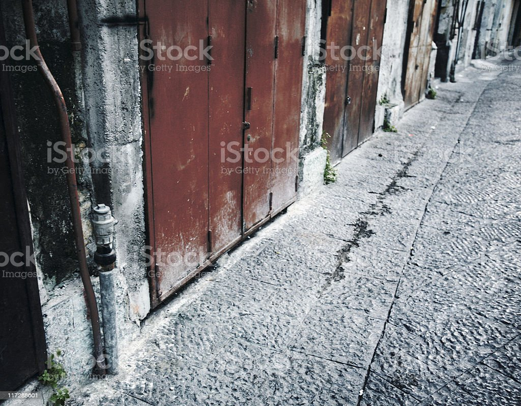 alley royalty-free stock photo