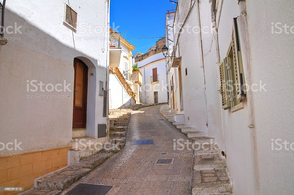 Alleyway. Laterza. Puglia. Italy. stock photo