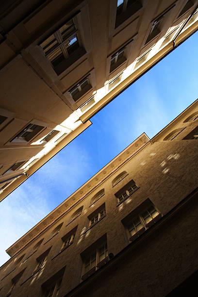 Gasse liegt panorama – Foto