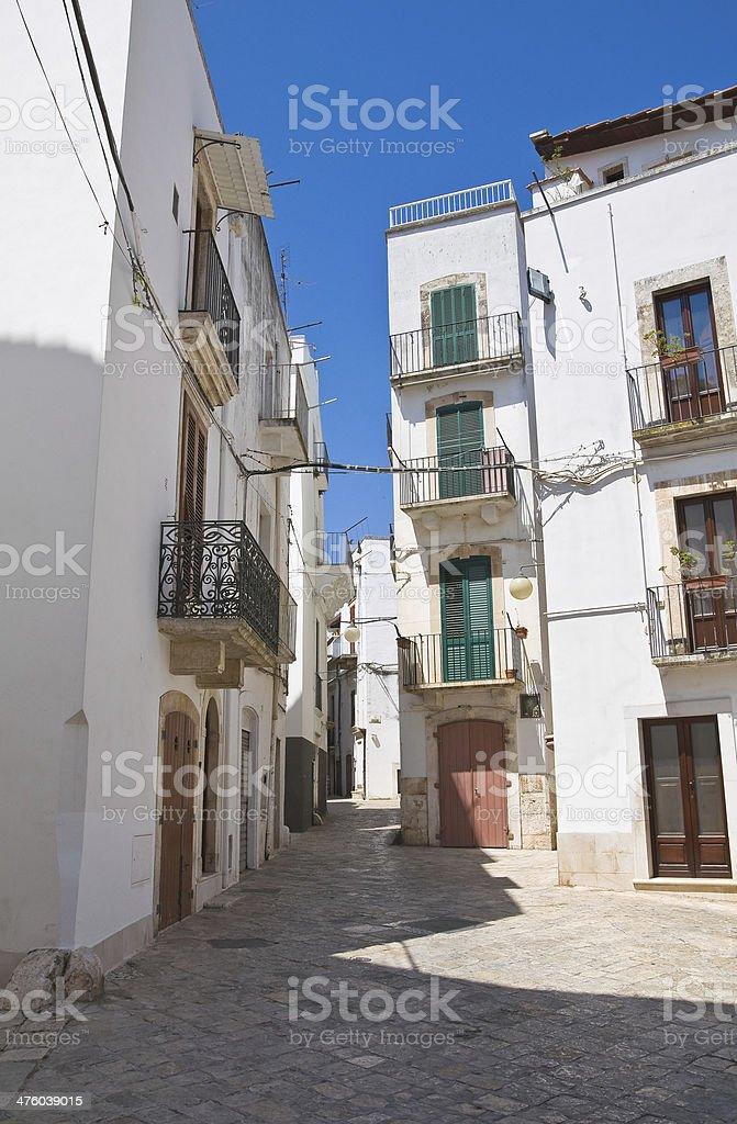 Alleyway. Putignano. Puglia. Italy. royalty-free stock photo
