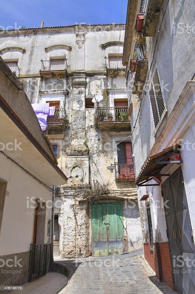 Alleyway. Tursi. Basilicata. Italy. royalty-free stock photo