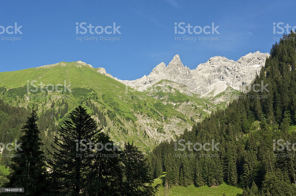 Allgäu Alps royalty-free stock photo