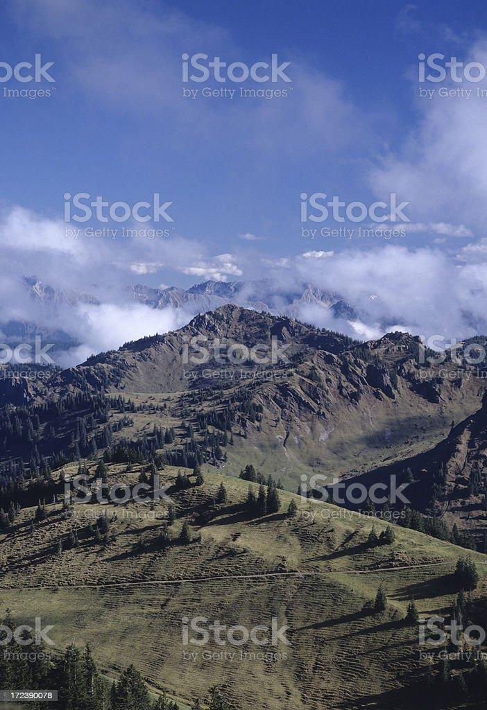 Allgäuer Alps royalty-free stock photo