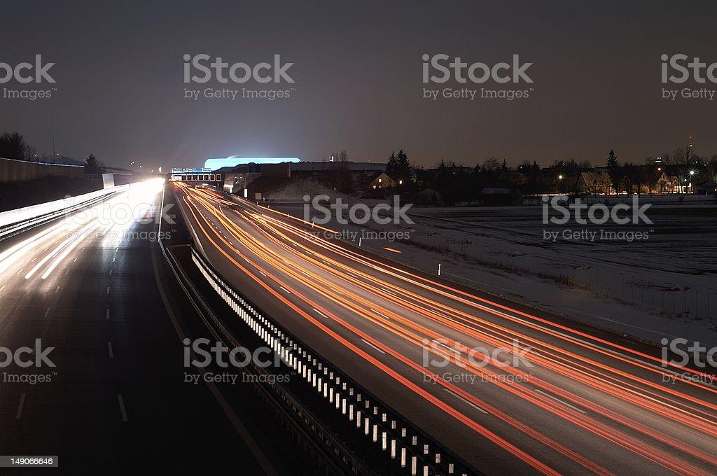 Allianz Arena and traffic圖像檔