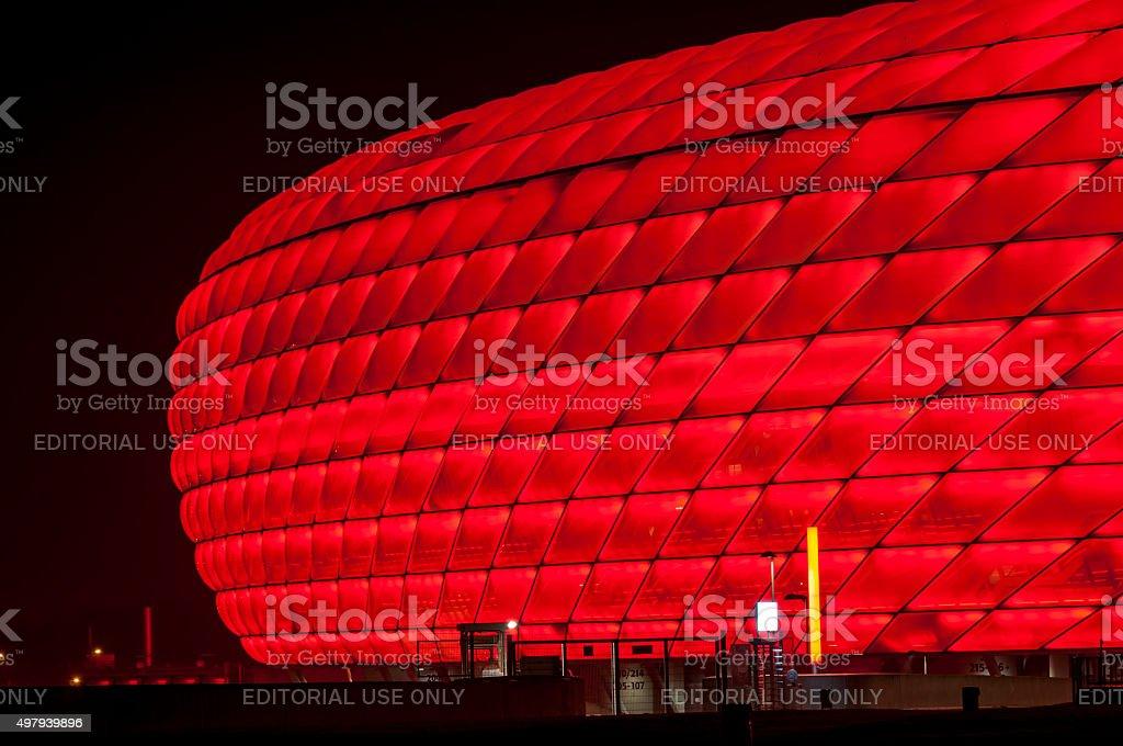 Münchner Allianz-Arena Football-Bereich – Foto