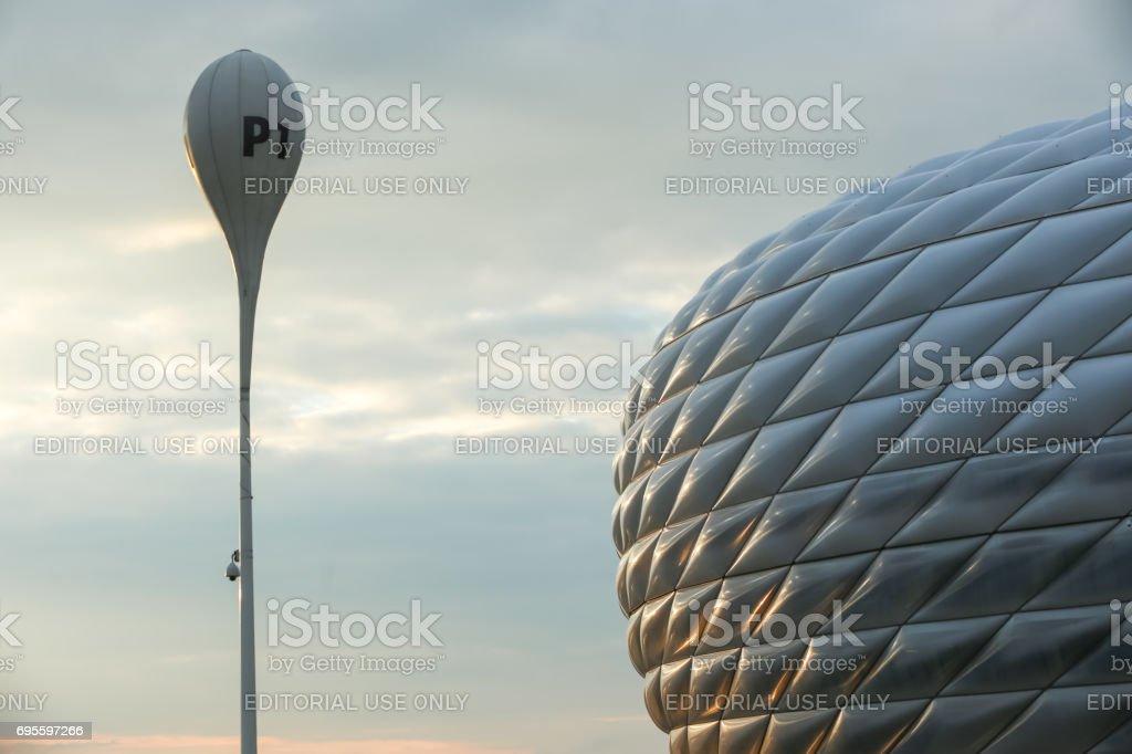 在慕尼克安聯球場圖像檔