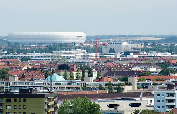allianz arena münchen - bayern fußball heute stock-fotos und bilder